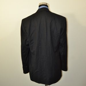 bill blass Suits & Blazers - Bill Blass 43L Sport Coat Blazer Suit Jacket Black